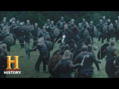 Vikings: Vikings Battle Tactics (Season 4) - Behind the Scenes | History