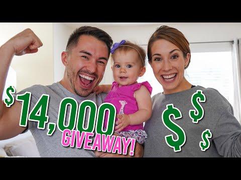 GIVING AWAY $14,000!!