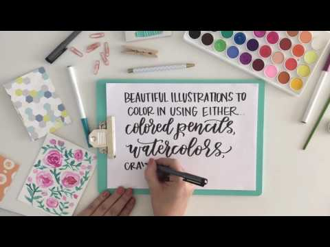 Creative Lettering Journal TRAILER
