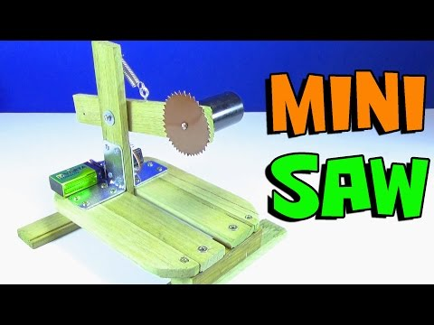 How to Make a Saw  | Mini Mitre Table Saw Machine at Home DIY