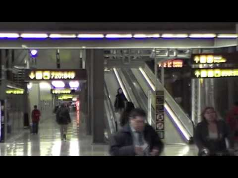 DEPARTURES AND CHECK IN, Terminal 4 at Madrid's Barajas Airport, from the METRO