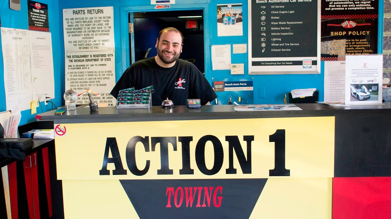Action 1 Automotive - Automotive service and towing throughout