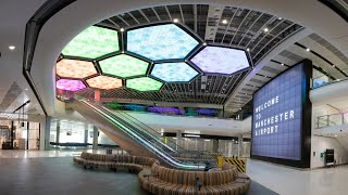 Discover the Journey of Manchester Airport's New Terminal 2 - Full Build Time-lapse