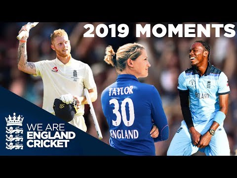 Top Moments Of 2019! | World Cup Glory, Stunning Stokes & Farewell To Legends | England Cricket
