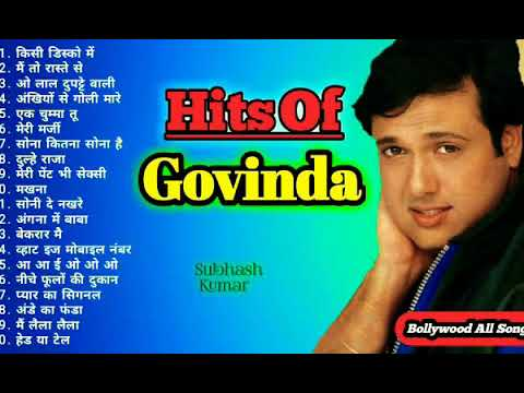 Download HITS OF GOVINDA  ❤ Jukebox  💝 Superhit Bollywood Songs Collection   Best Dance Songs