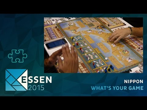 Essen 2015 - jeu Nippon - What's your game - VOSTFR