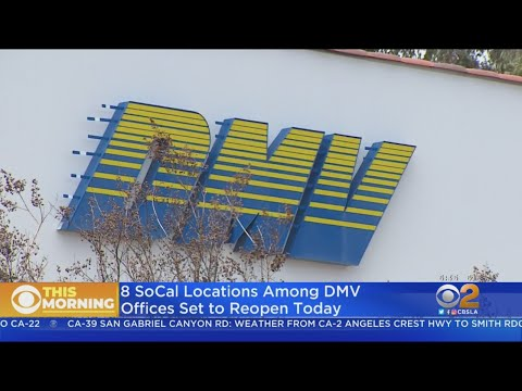 DMV Opens Some Locations With New Hours, Rules