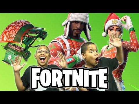 FORTNITE - *NEW* CHRISTMAS SKINS in ITEM SHOP | GIFTING ...