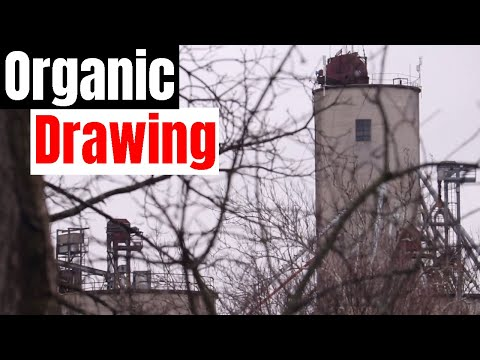 Organic Drawing With Nature by J Sheetz