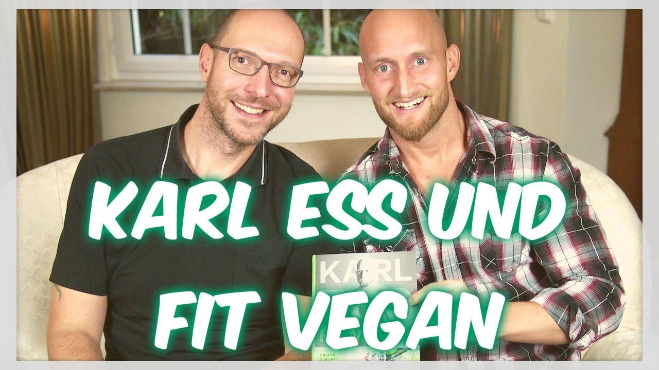 KARL ESS und FIT VEGAN - Ende von YouTube, Ghostwriter, Konzept, Rezepte - Interview 3/5 [VEGAN]