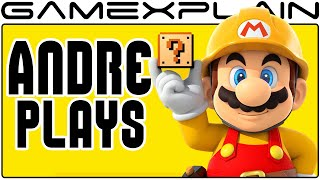 Super Mario Maker - Andre Plays YOUR Levels LIVE