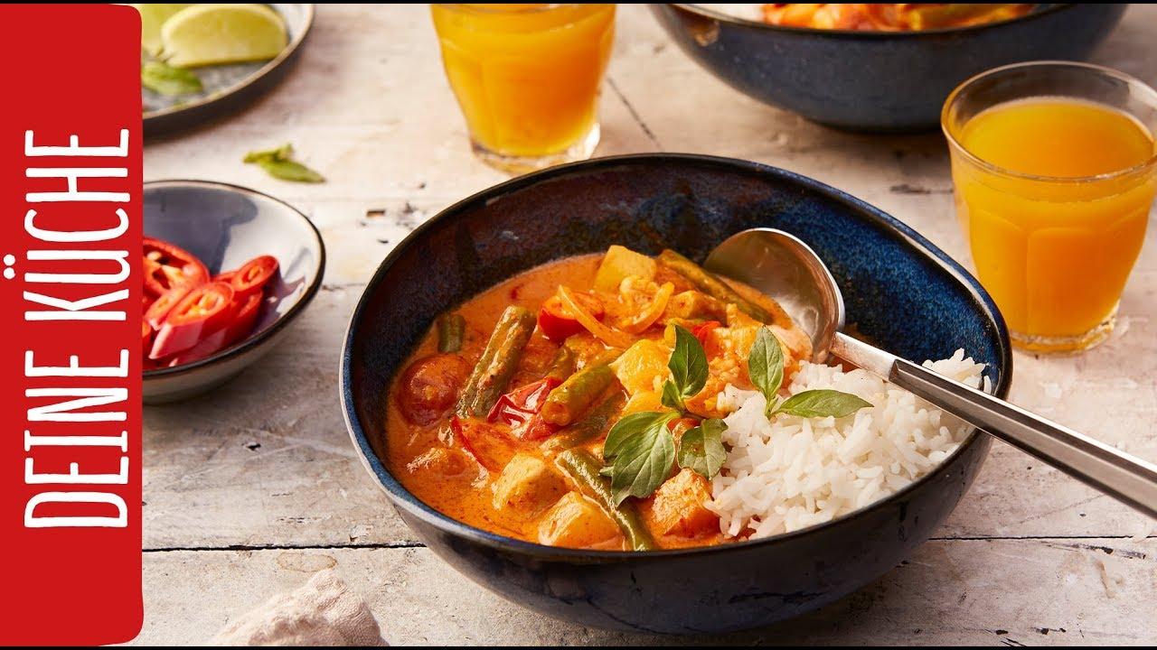 Rotes Hähnchen-Curry | REWE Deine Küche