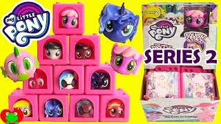 My Little Pony Mashems Stackems MLP Series 2 Princess Luna, Cheerilee, Derpy