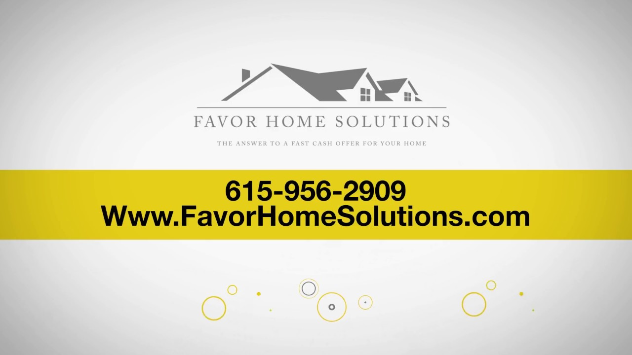 We Buy Houses Fast For Cash In Nashville, Tennessee | CALL 615-956-2909 | Sell House Fast TN
