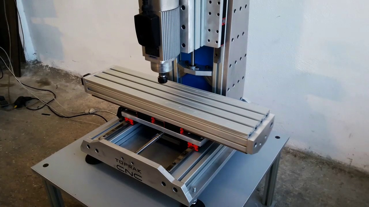 3 Axis Cnc In Action Toprak Cnc