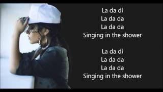 Becky G - Shower Karaoke (Spanish Version) WITH LYRICS ON SCREEN