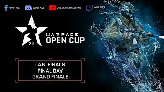 Warface Open Cup Season XII LAN Finals - Final Day