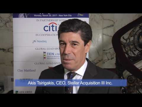 2017 11th Annual Capital Link International Shipping Forum - Akis Tsirigakis Interview