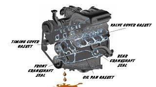 Основные места утечки масла двигателя EP6 автомобилей Peugeot 308 и соплатформенников.