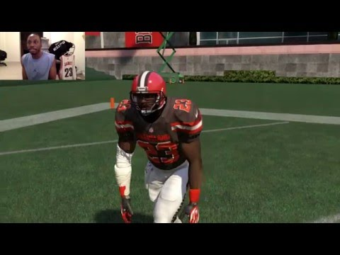 "Can LeBron James Catch a 99yd Touchdown Pass from Johnny ""Money"" Manziel?? Funny Madden Gameplay"