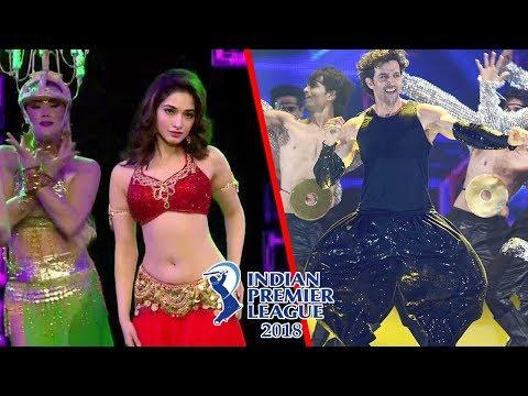 IPL Opening Ceremony 2018 Live | IPL 2018 Opening Ceremony | Tamanna Bhatia & Hrithik Roshan Dance