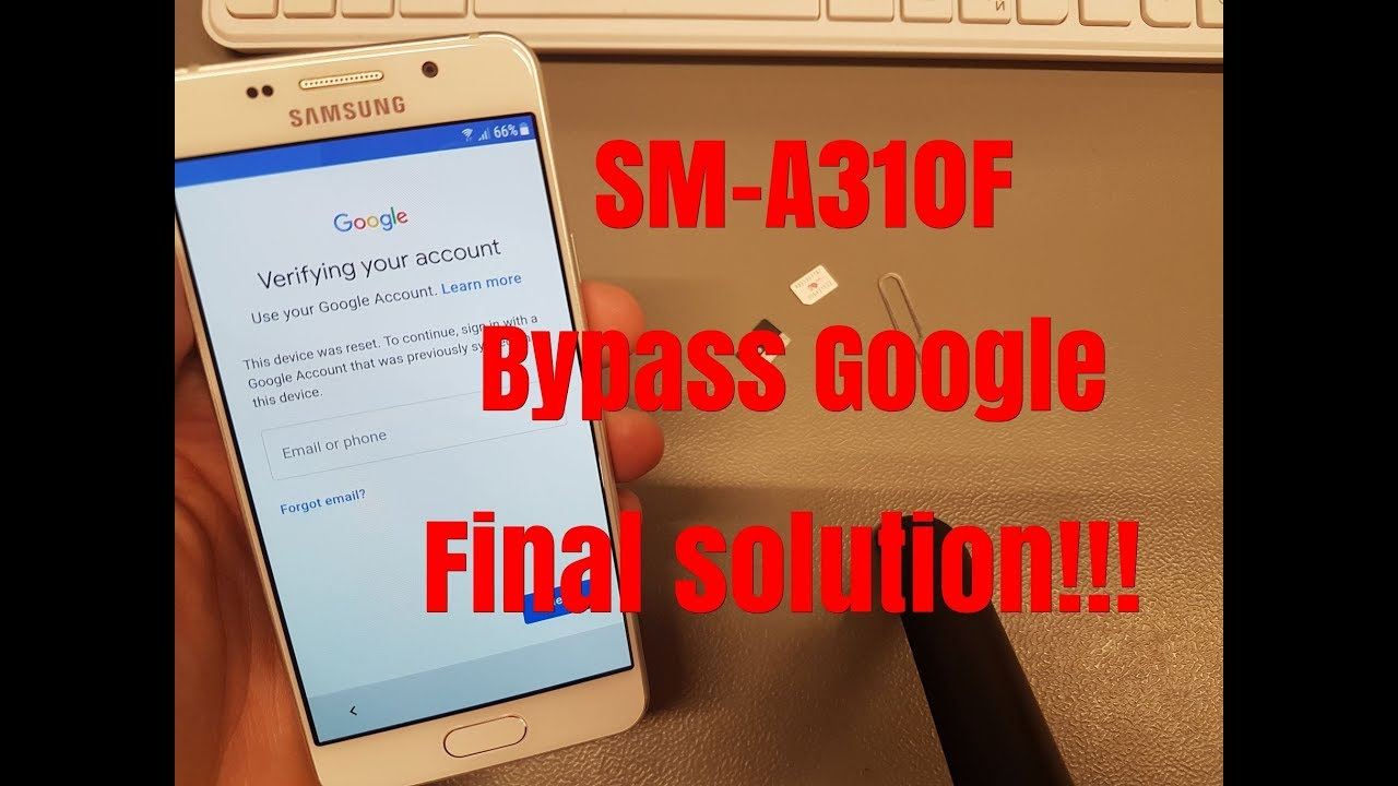 BOOM!!! Without PC!!! Samsung A3 2016 (SM-A310F) ,Remove Google  Account,Bypass FRP