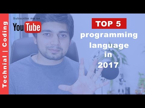 Top 5 programming language to learn 2017