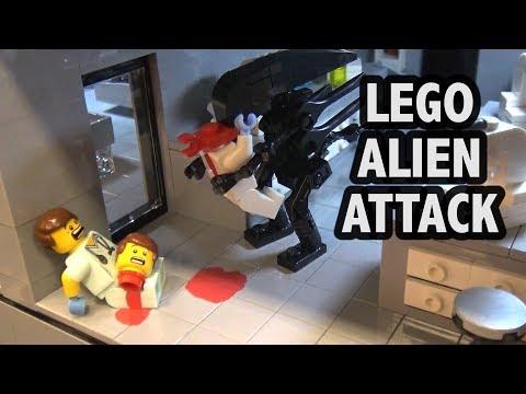 LEGO Secret Alien Research Center Mayhem | BrickCon 2017