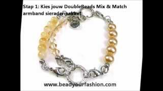 Sieraden maken -- Korte introductie van DoubleBeads DIY Mix & Match sieradenpakketten Thumbnail