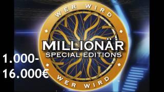 Wer wird Millionär Soundtracks [5] - 1.000-16.000 €