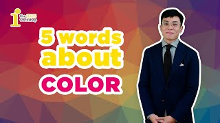 [SHORTCUT TO IELTS 9.0] SPEAKING ABOUT COLOURS