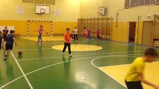 Баскетбол в парах на шесть колец. На тренировках с Постовым А.И.