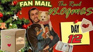 The Real Vlogmas Day 12💌: Ανοίγω τα fan mail #2 | Tsede The Real