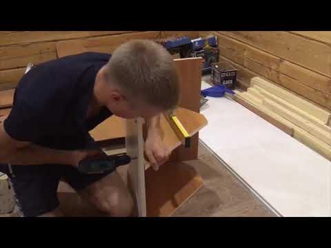 Шкафчик в ванную комнату настенный своими руками