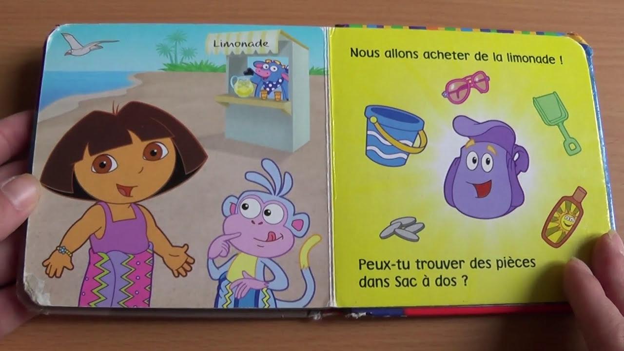 Dora l 39 exploratrice une journ e la plage histoire pour - Dora a la plage ...