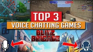 Top 3 Voice Chatting Multiplayer Games In Android Youtube