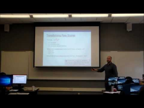 Normal Distribution, Probability, and Confidence (Psyc 5060 Lecture 3)