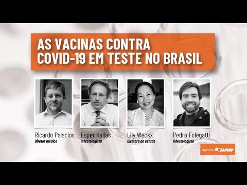 As vacinas contra covid-19 em teste no Brasil
