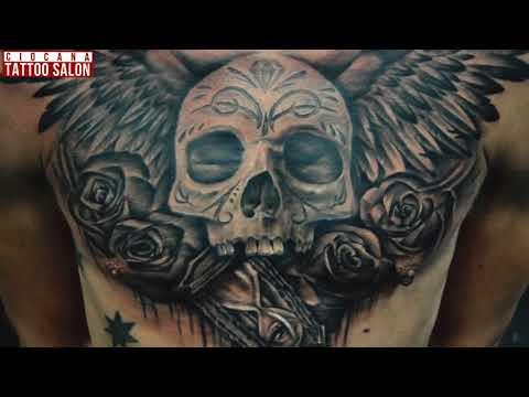 11 - Тату Крылья - значение татуировки