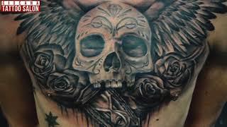 """11 - Тату Крылья - значение татуировки """"The Tattoo Salon - Ciocana"""""""