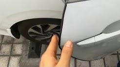 (Installation) Door Edge Protector Anti Scratch Rubber Trim Strip
