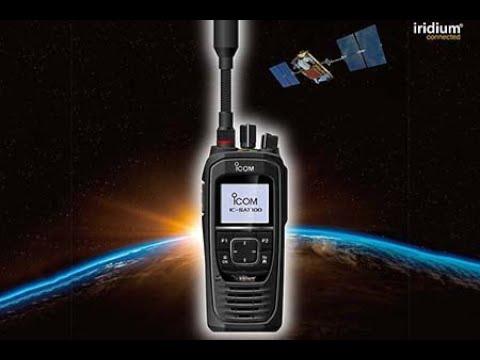 Iridium Icom PTT Satellite Radio - Fully Global Push-To-Talk Connectivity