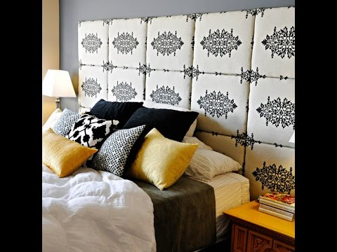 Diy Fabric Headboard Squares