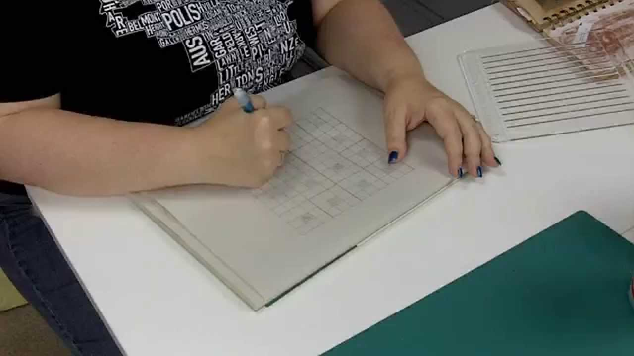 Another Use For Your Heirloom Smocking Tempate Graph Paper Youtube