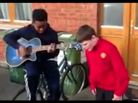 AMAZING Cover - Little boy sings We Found Love - Rihanna