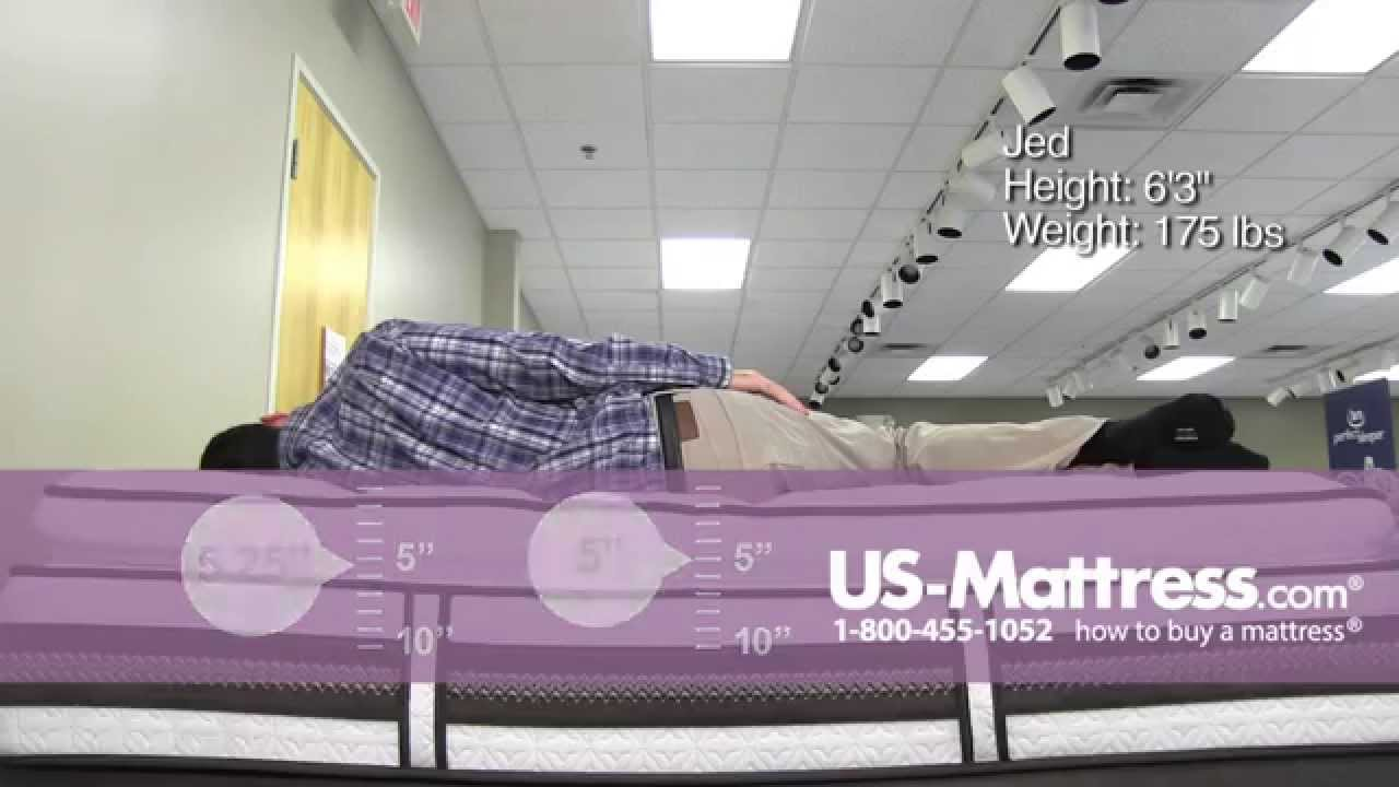 Serta Iseries Profiles Honoree Super Pillow Top Comfort Depth With Jed