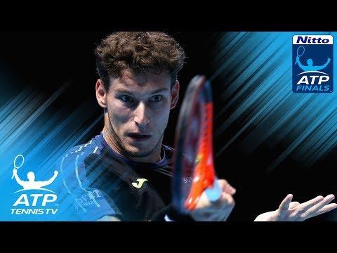 Dominic Thiem vs Pablo Carreno Busta rocket shots | Nitto ATP Finals 2017 Highlights