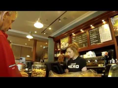A Quick Coffee at Caffè Nero in Belfast