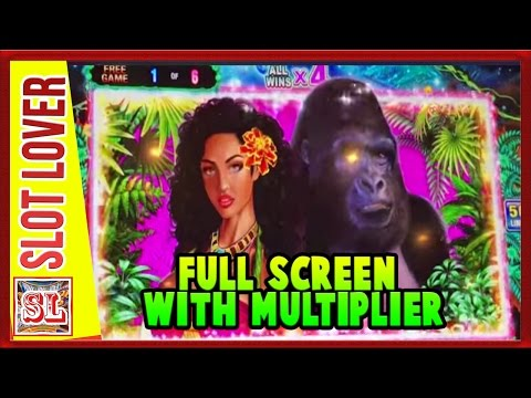 ** SUPER DRUNK BIG WIN ** WILD BEAUTY ** FULL SCREEN WITH MULTIPLIER ** SLOT LOVER **