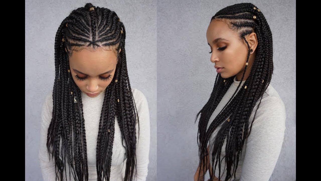 fulani tribal feed in braids